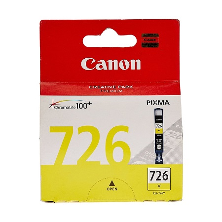Canon 726 Yellow Cartridge