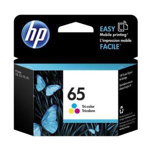 HP 65 Tri-color Original Ink Cartridge (N9K01AA)