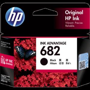HP 682 Black Original Ink Advantage Cartridge #3YM77AA