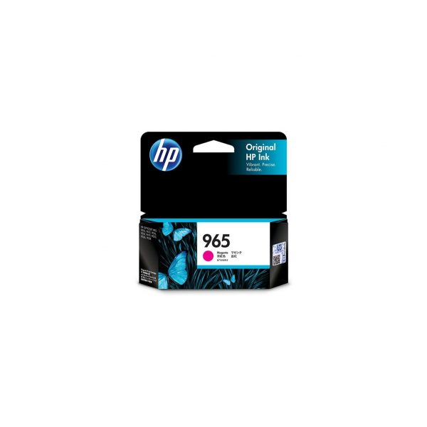 HP 965 Magenta Original Ink Cartridge #3JA78AA